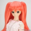 【DM-04】DD/MDD HP wigs w/Hair Pin  ウイッグ+髪のピン # 珊瑚ピンク Coral Pink