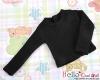 356.【NB-2】 Blythe Pullip エクストラ長袖Tシャツ # 黒 Black