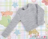 357.【NB-3】 Blythe Pullip エクストラ長袖Tシャツ # 灰 Grey