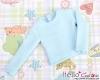 359.【NB-5】Blythe Pullip エクストラ長袖Tシャツ # 空色 Sky Blue