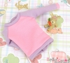 247.【ND-4】Blythe/Pullip ラグラン 長袖Tシャツ Long Sleeve Raglan Tee # Pink+Purple