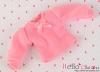 303.【NI-S10】Blythe Pullip長袖Tシャツ(パフスリーブ)# Sweet Pink