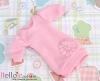 366.NK-01N Blythe Pullip 装飾された洋服 (リボン花) # ピンク Pink