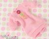 293.NK-19 Blythe Pullip  パフスリーブ装飾された洋服 (3花) # ピンク Pink