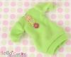 295.NK-21 Blythe Pullip  パフスリーブ装飾された洋服 (3花) # 林檎の緑 Apple Green