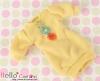 296.NK-22 Blythe Pullip  パフスリーブ装飾された洋服 (3花) # 黄色 Yellow