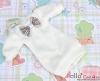 58.NK-39 Blythe Pullip  パフスリーブ装飾された洋服 (蝶結び) # 白 White
