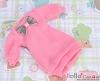 59.NK-40 Blythe Pullip  パフスリーブ装飾された洋服 (蝶結び) # Sweet Pink