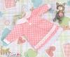 73.【NY-1】Blythe Pullip 襟付きのドレス # ピンク Pink