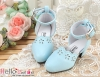 【LS-06】Leather High-Heeled Shoes(SD/DD)# Sky Blue