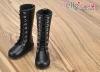 TY02-1 Taeyang 長靴 # Black 黒色