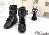 TY08-1 Taeyang 靴 # Black 黒色